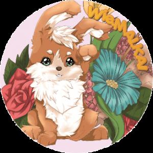 button-fleur