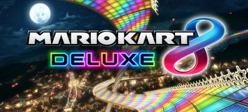 Mario Kart 8 DLX Logo