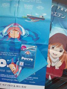 Ponyo DVD Paket
