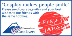 Prayers from Cosplayers