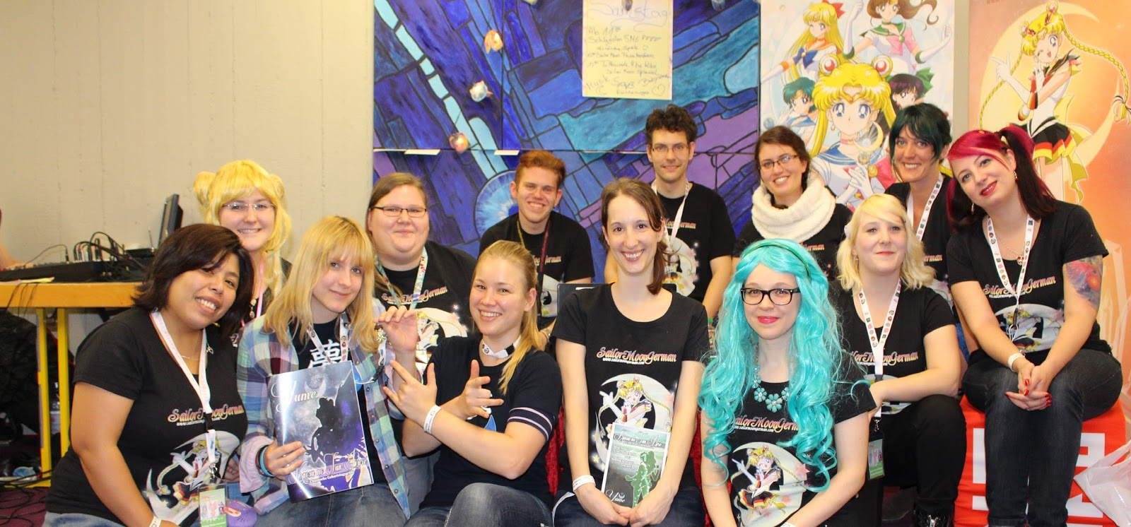 das sailormoongerman team