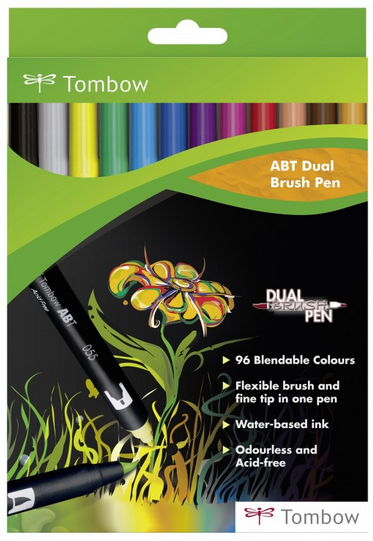 tombow - ABT Dual Brush Pen Set 12