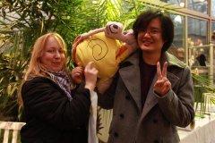 Japan Week 2011 Fotos mit unserem Maskottchen