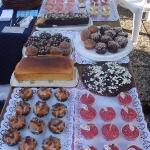 Leckere Muffins und Kuchen