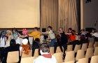 Bühnensaal Caramel dancen (zappy)
