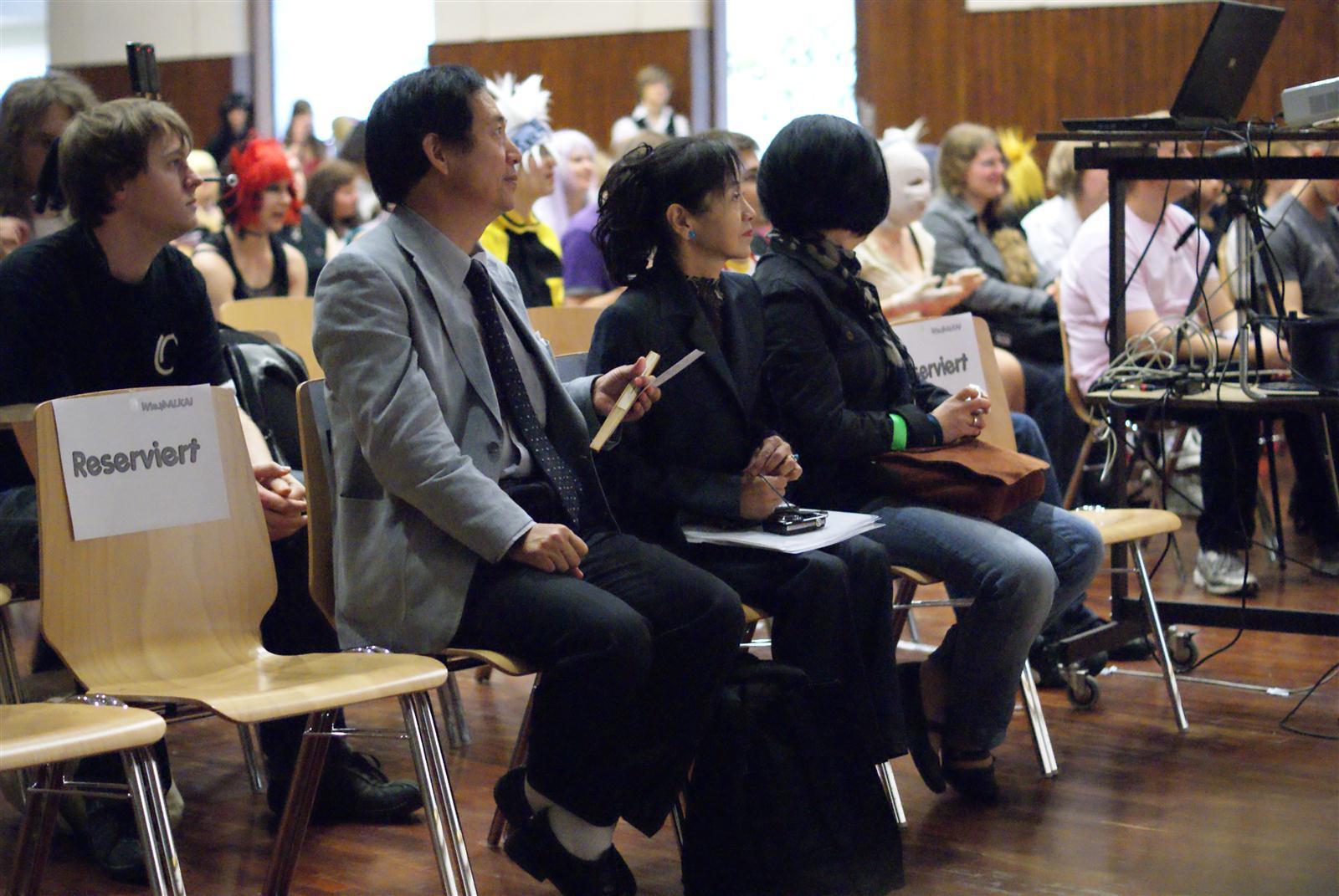 Wie.MAI.KAI 2011 - Bühne japanischer Generalkonsul Shigeeda