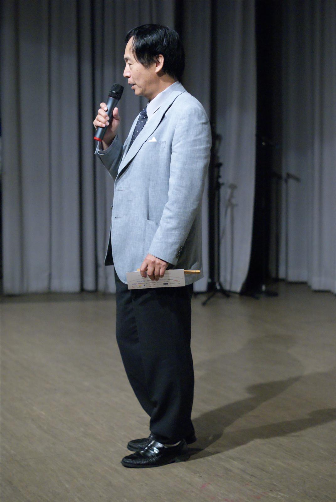 Wie.MAI.KAI Bühne - japanischer Generalkonsul Shigeeda