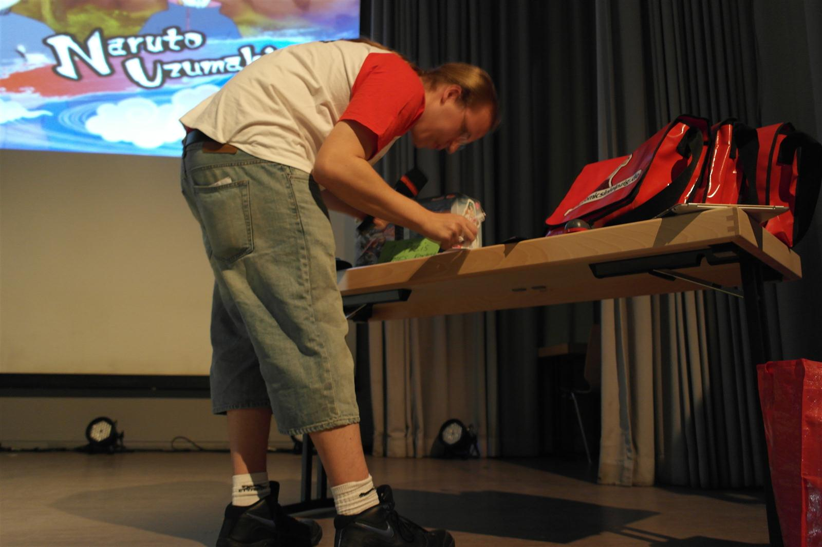 Naruto Games-Contest on Stage (Azrael)