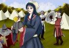 Maid und Schnecke im Mittelalter